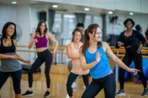 PSB Fitness Zumba class