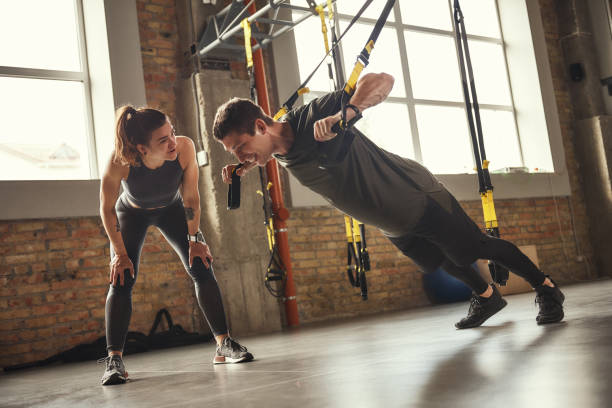 Example of How to Use TRX Suspension Trainer equipment.